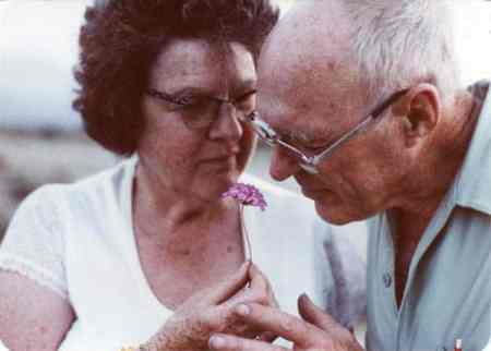 Photo courtesy of Kathleen Bigger Dorothy and William Bigger in their later years.