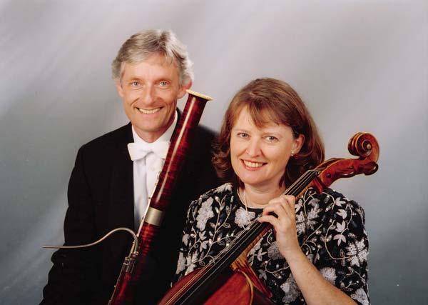 Photo courtesy of edelmann-rust.com, by Uwe H. Seyl, Stuttgart, Germany  Friedrich Edelmann and Rebecca Rust : SF – Munich Trio