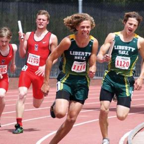 LBHS track teams better last year's results at state meet