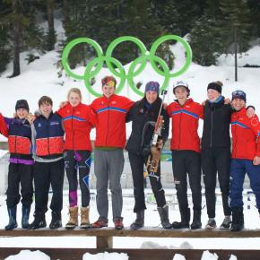 Methow Valley Biathlon Team traveled to Whistler, B.C., for two days of competition