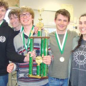 LBHS Knowledge Bowl team edges St. George's for state title