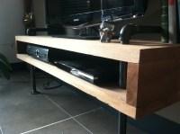 DIY: Urban Minimalist TV Stand  meticulous mrs.