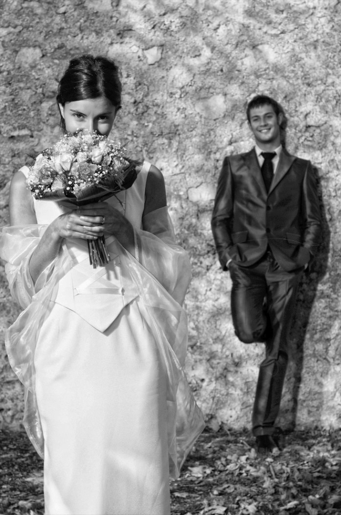 WEDDING ART PHOTOGRAPHY BLACK AND WHITE AND COLOUR PART 2 006017 (Custom)