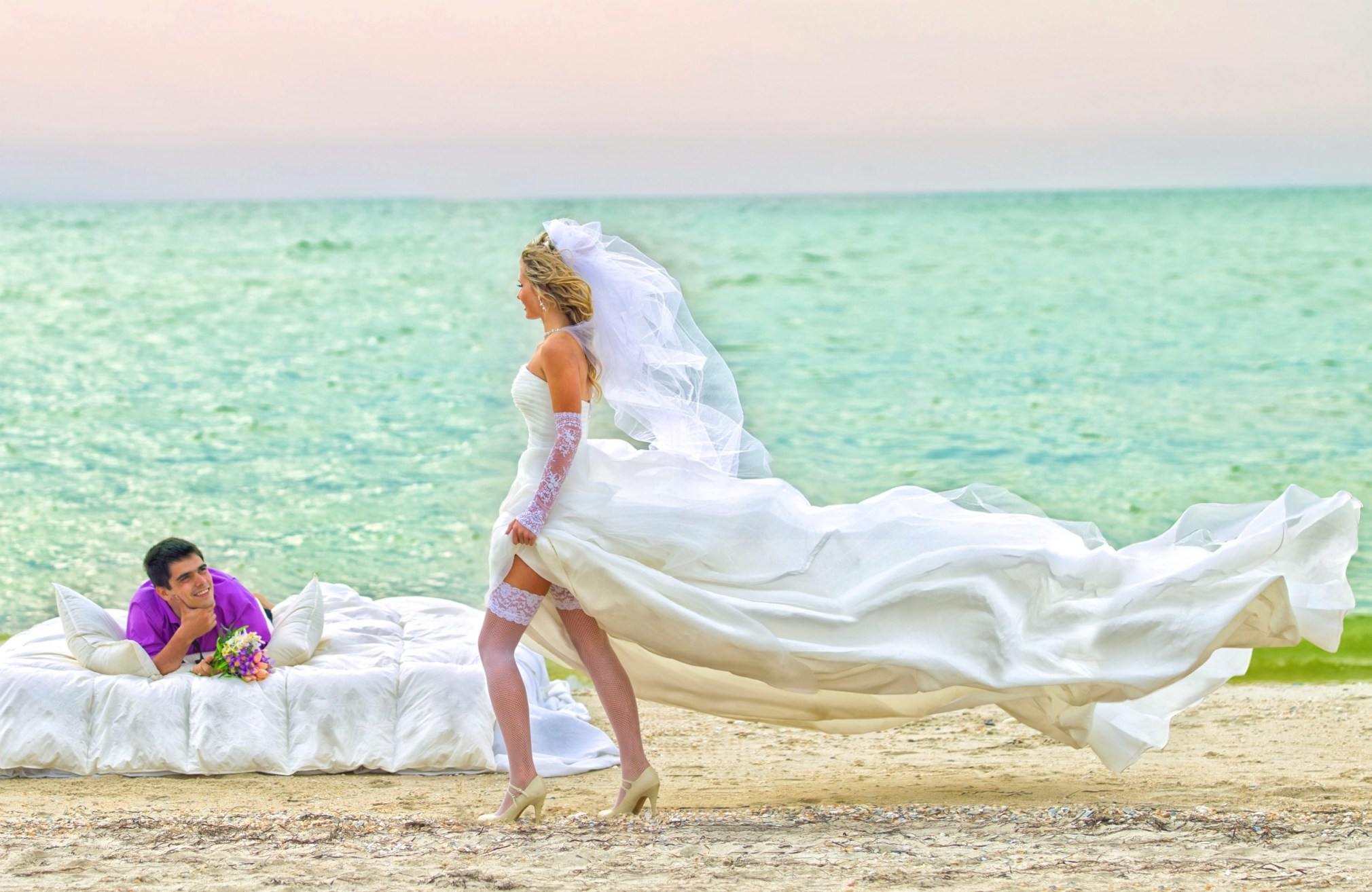 PART 2 WEDDING BEACH COUPLES PORTRAITS COLOUR AND BLACK AND WHITE 003800 (Custom)
