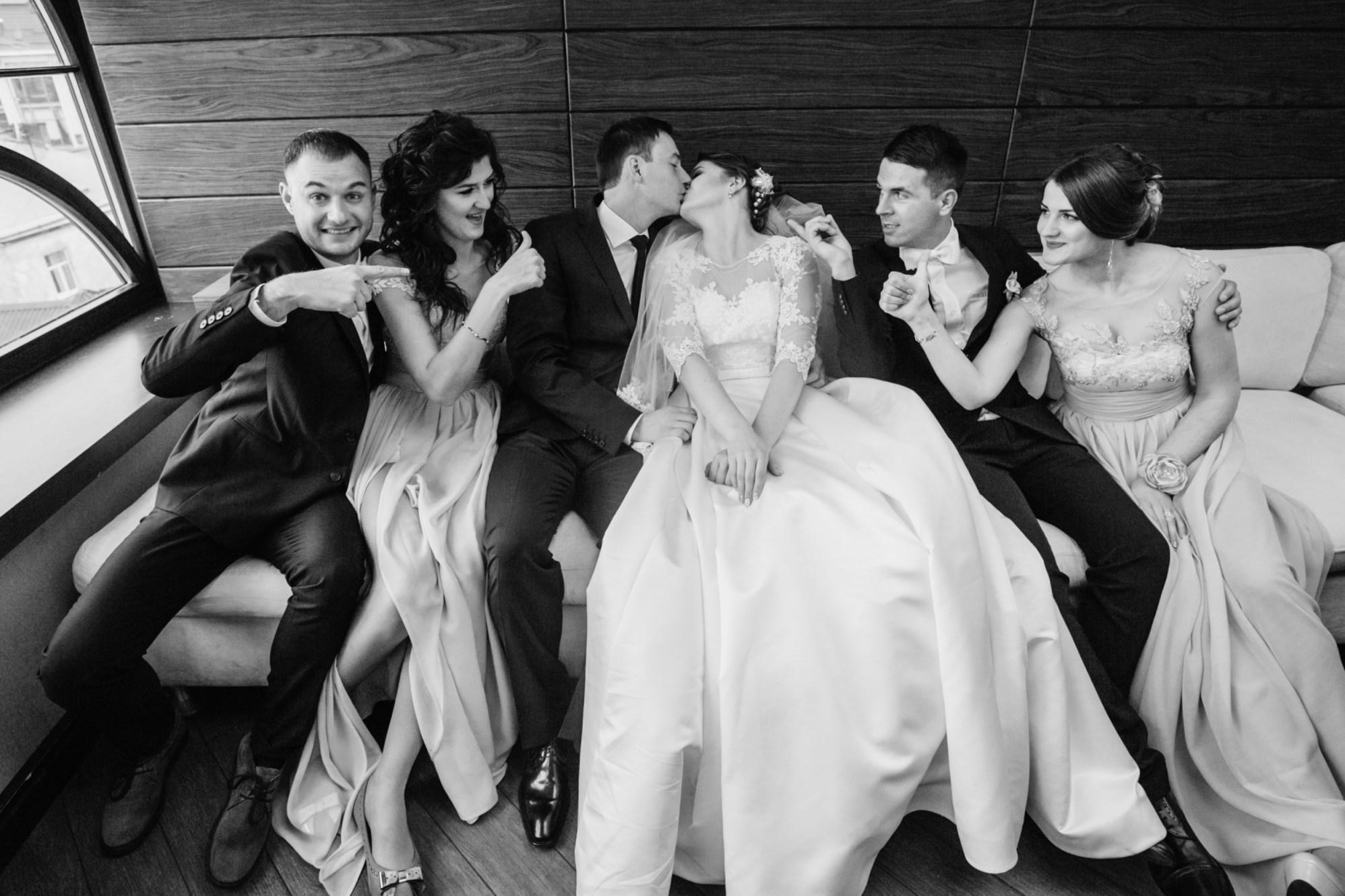 WEDDING COUPLE ART HUMOUR SHOTS 007408 (Custom)