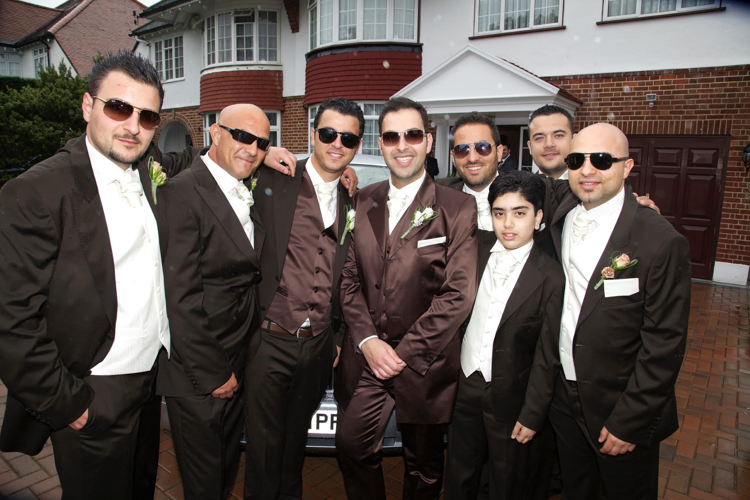 WEDDING BEST MAN BEST MEN WITH GROOM (1) 007120 (Custom)