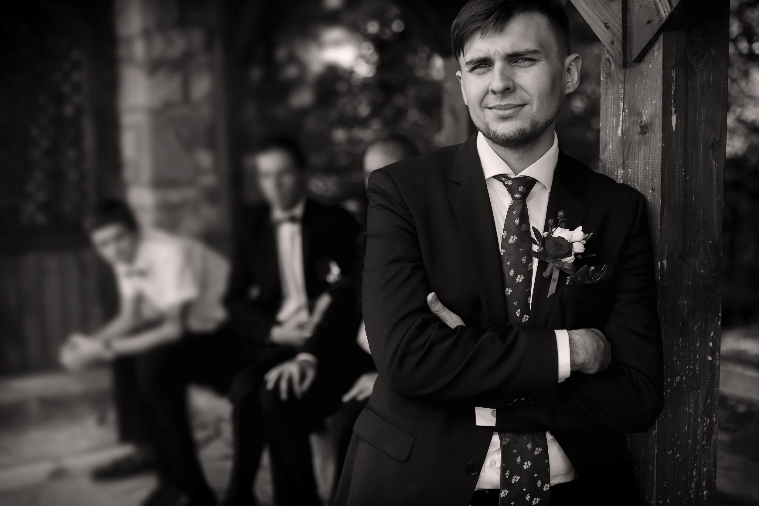 WEDDING BEST MAN BEST MEN WITH GROOM (1) 007152 (Custom)