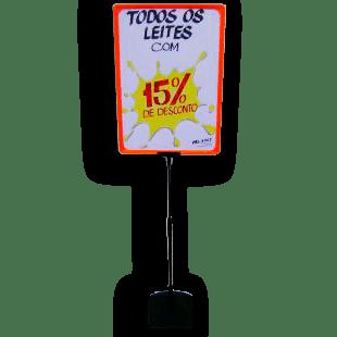 Expositor De Preço A3 (BMTT) – Laranja