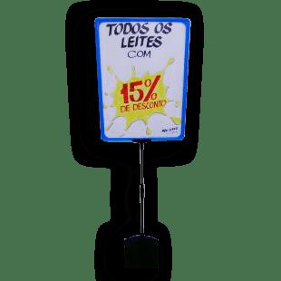 Expositor De Preço A3 (BMTT) – Azul