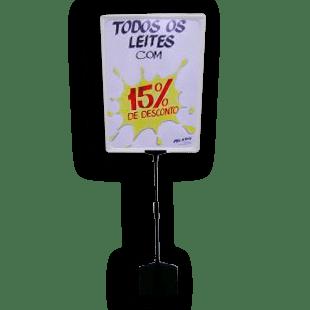 Expositor De Preço A3 (BMTT) – Branco