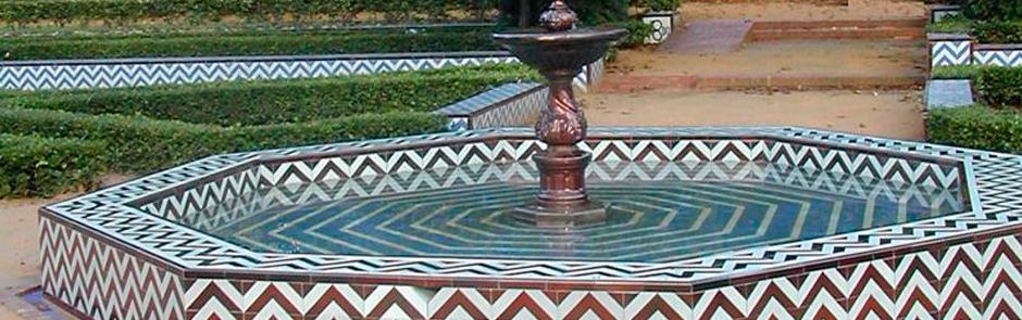 Suministro y realización de azulejos Glorieta de la Concha. Parque de María Luisa. Sevilla.
