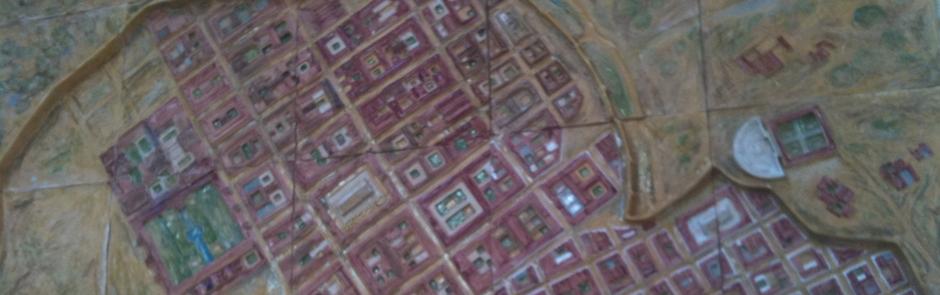 Panel cerámico táctil reproducción Ciudad de Itálica