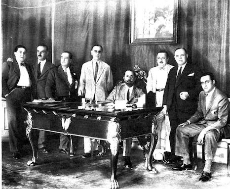 Despacho de Cruz Conde, Ortiz de Zarate, D Brackenbury, Campua, Carvajal, Olave, Riera y Brasa