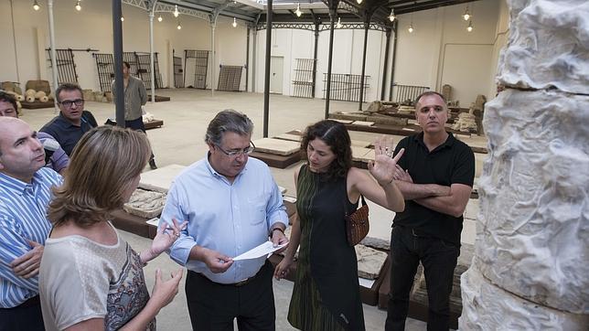 Garaje Laverán: Conformación de un depósito de Bienes Culturales para Sevilla.