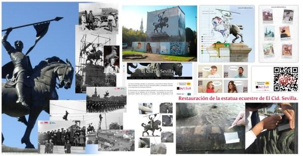 Restauración el Cid de Sevilla