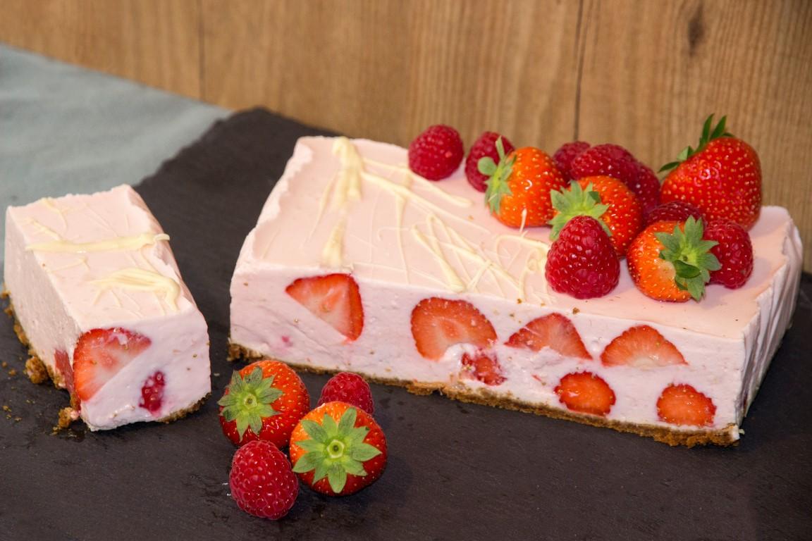 Aardbeien kwarktaart met bastogne | Foodblogswap