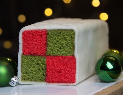 Recept voor een Battenberg cake
