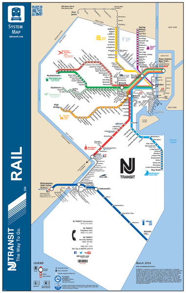 Nj Transit Zone Map : transit, Public, Transportation
