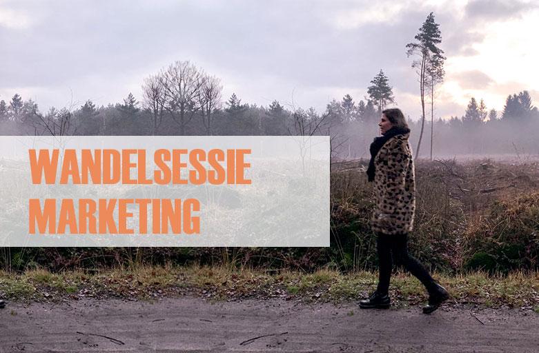 Wandelsessie marketing