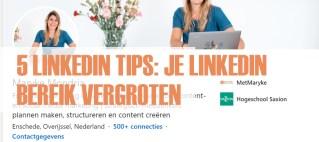 LinkedIn tips - meer bereik