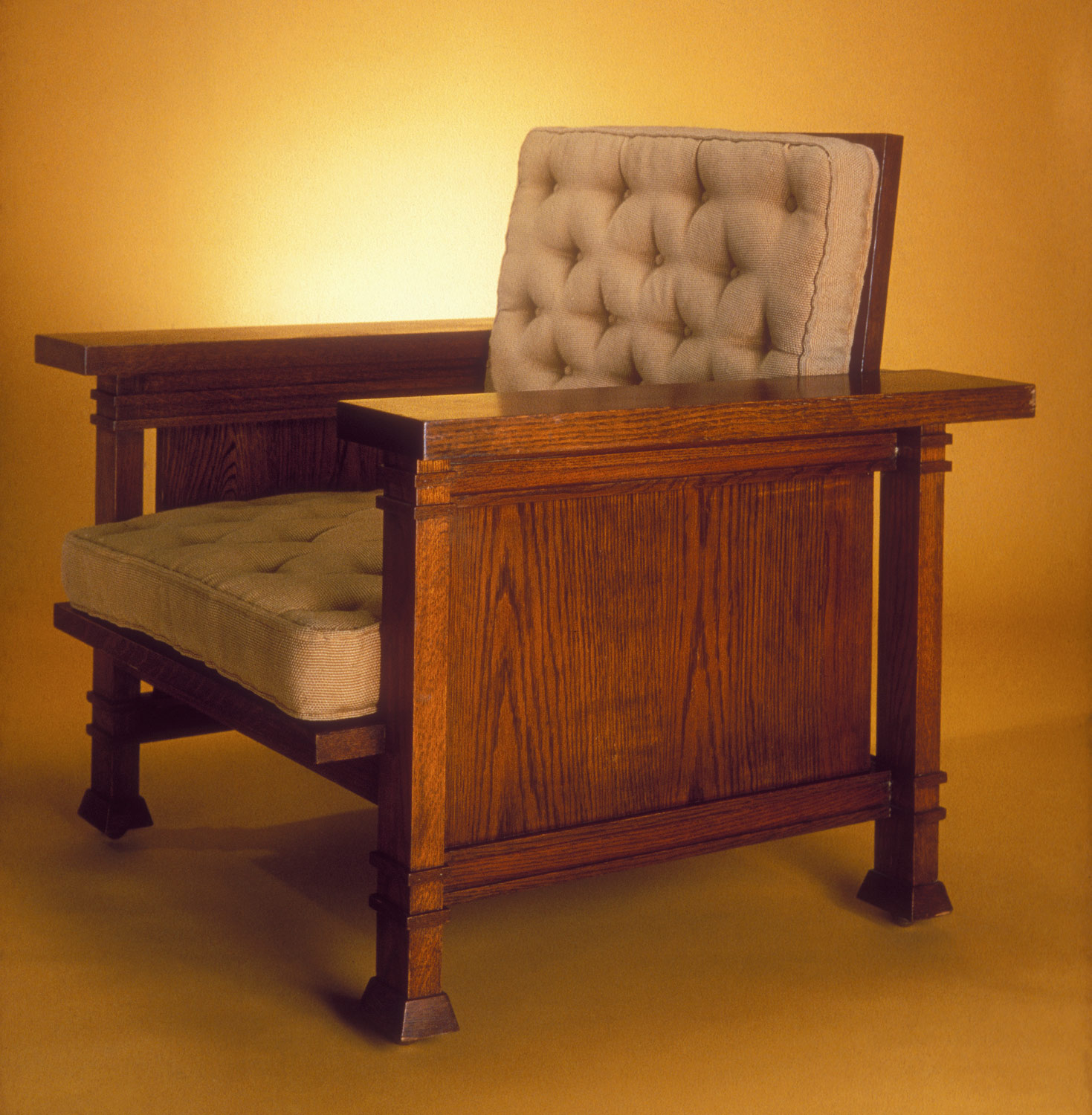 Frank Lloyd Wright Chairs Armchair Frank Lloyd Wright 1972 60 4 Work Of Art