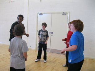 Dance workshop 6th Class METNS Autumn 2012