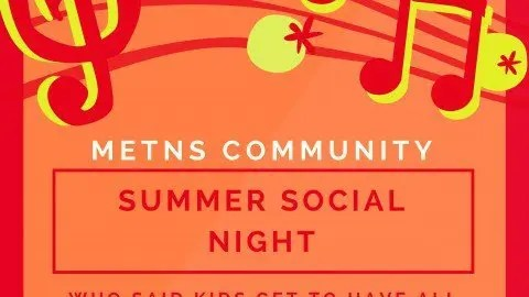 METNS Community Social Night – 10th June