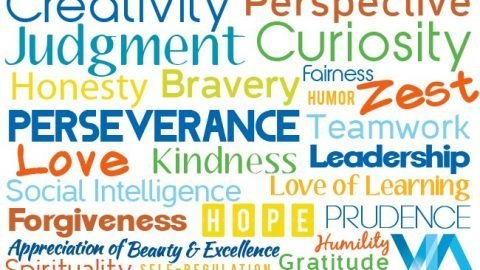 Value of Month January 2019 :  Celebration of Character Strengths