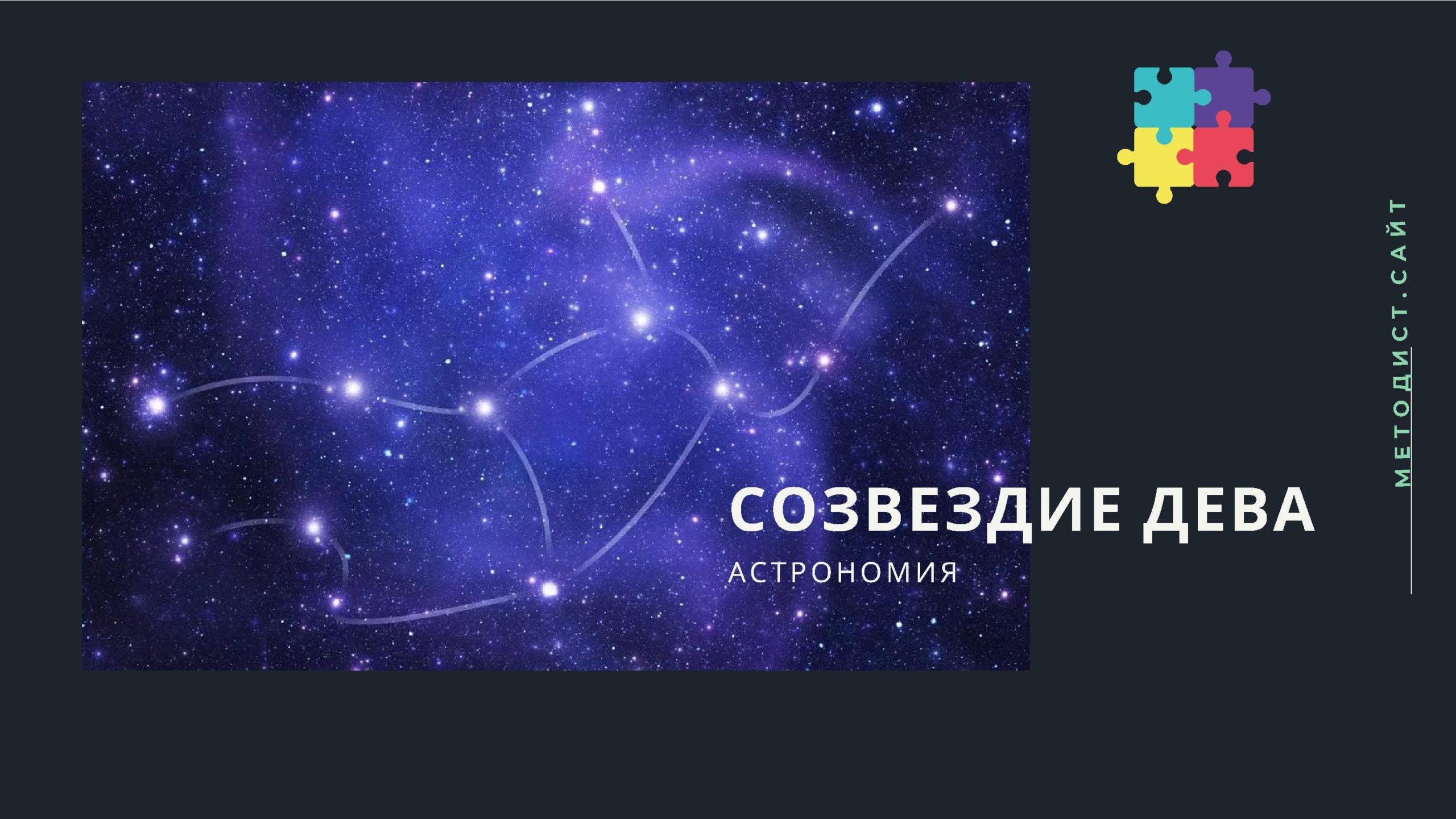 Созвездие Дева. Астрономия
