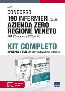 190 Infermieri (Cat. D) Azienda Zero Regione Veneto (G.U. 22 settembre 2020, n. 74) - Kit completo