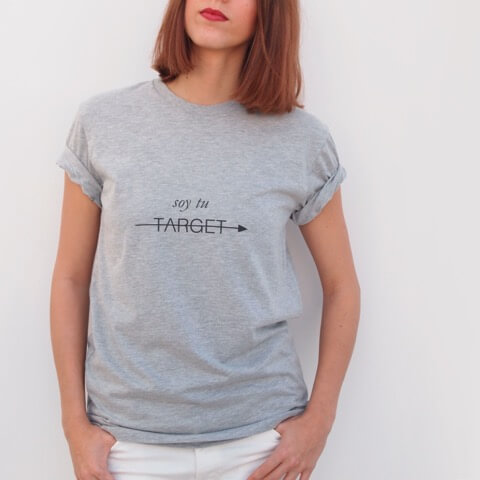 "Camiseta Ungendered ""Soy tu target"""