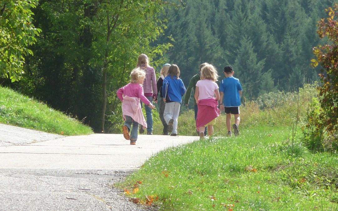 5 rutas de senderismo para hacer con niños