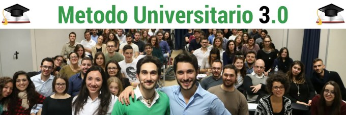 Metodo Universitario 3 - Registrazione ok