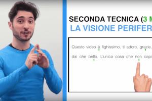seconda tecnica lettura veloce visione periferica - Lettura Veloce: la Guida Definitiva per l'Università [Le 4 Tecniche Migliori]