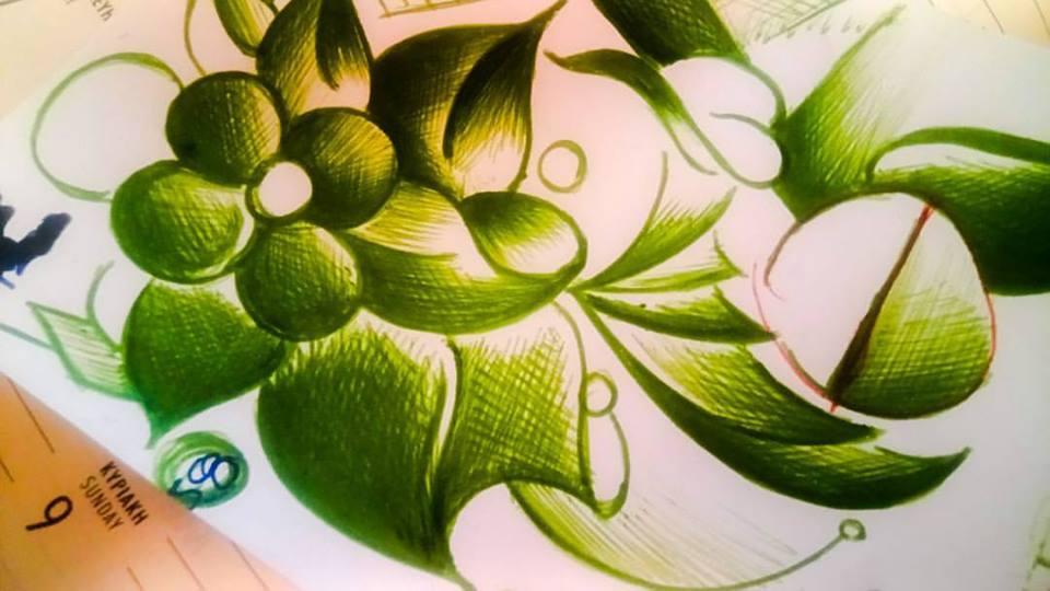 Σχέδια με στυλό και φίλτραα