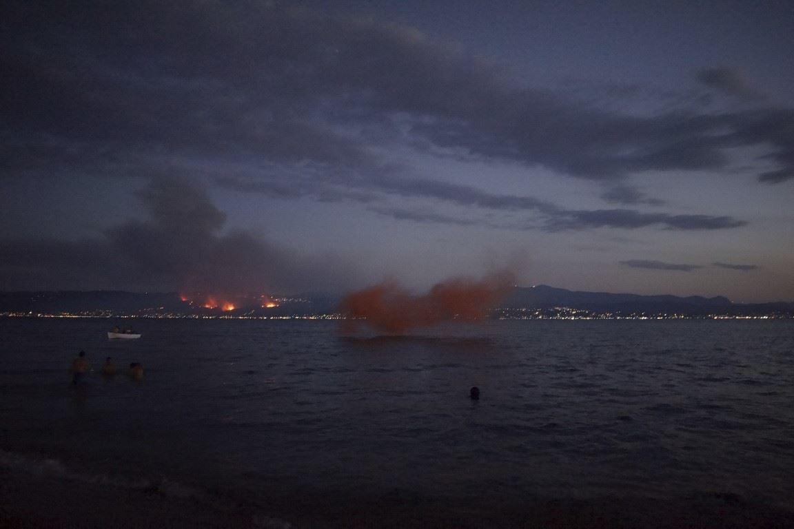 φωτιά στον Κάλαμο, 2017