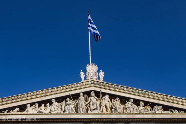 Read more about the article Νεοκλασική Τριλογία των Αθηνών: Βιβλιοθήκη, Ακαδημία, Πανεπιστήμιο [φωτογραφίες]