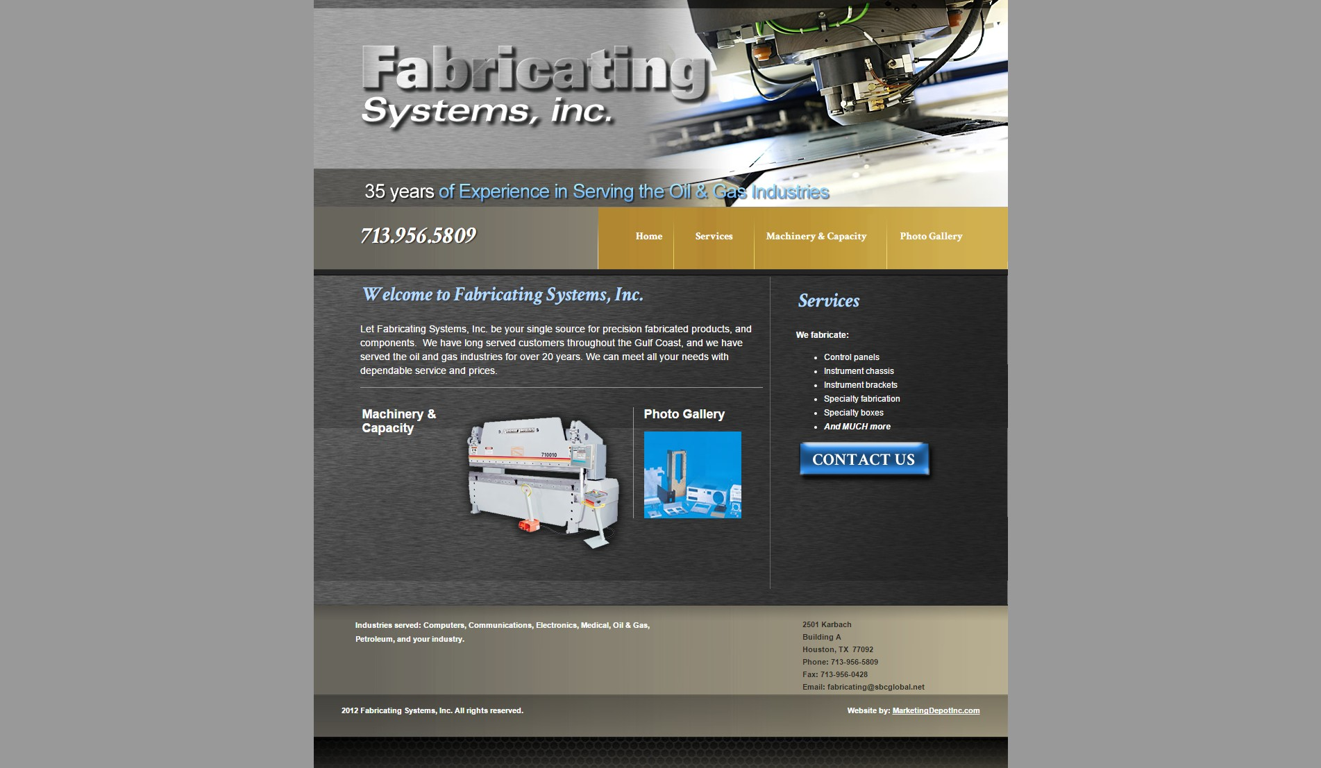 Fabricating Systems