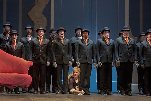 "A scene from Rossini's ""La Cenerentola"" with Joyce DiDonato as Angelina.   Photo: Ken Howard/Metropolitan Opera"