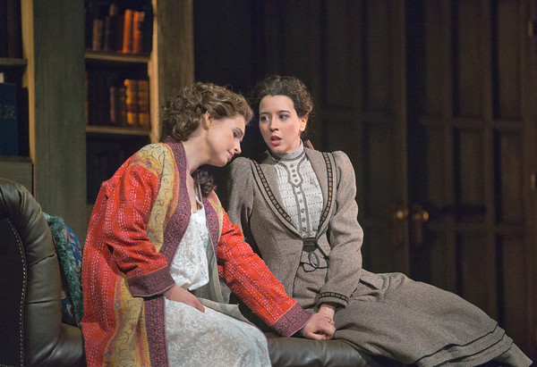 "Sophie Koch as Charlotte and Lisette Oropesa as Sophie in Massenet's ""Werther.""  Photo: Ken Howard/Metropolitan Opera"
