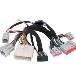 ford plug n play t harness for ax dsp [ 1000 x 1000 Pixel ]
