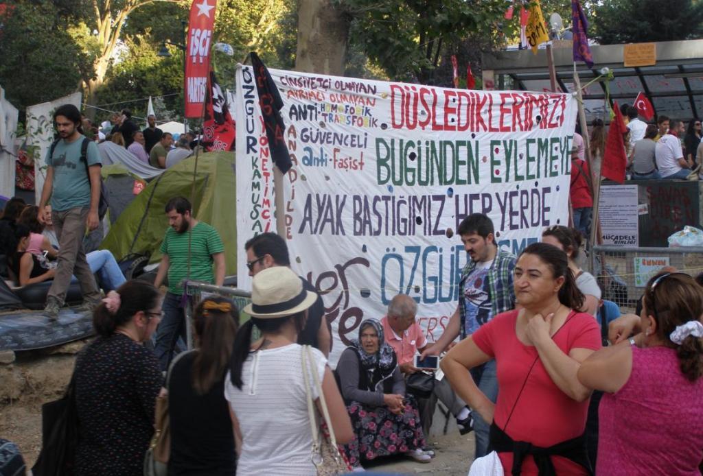 """من اعتصام """"غازي بارك"""" في إسطنبول، 2013 (OpenDemocracy)"""
