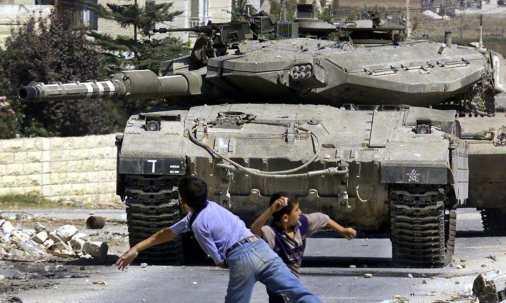 من مواجهات الانتفاضة عام 2013 (AFP)