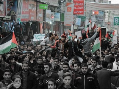 3 نقاط حول احتجاجات غزّة