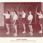 1941-42-Womens-Archery-Team-Occi
