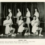1943-44-Womens-Archery-Team-Occi