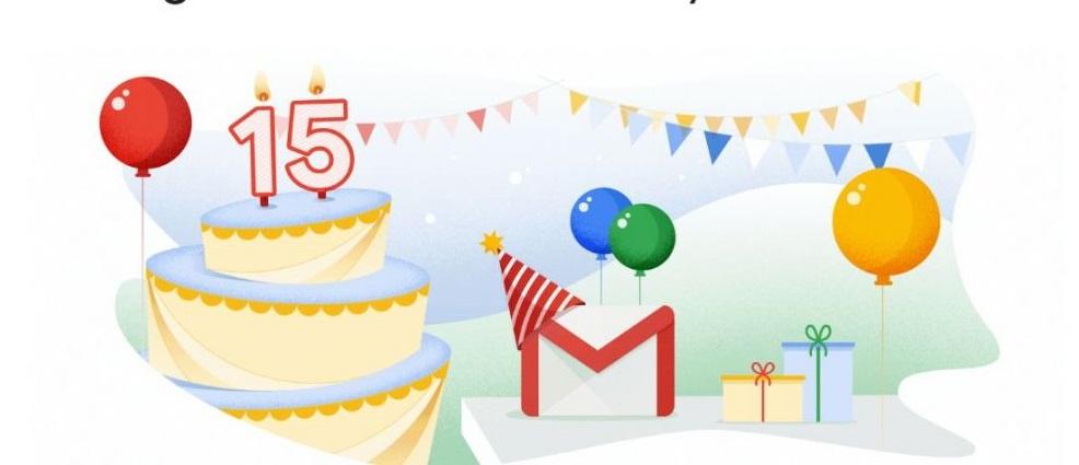 La magia de tus quince años: Gmail está de fiesta y lo celebra por todo lo alto