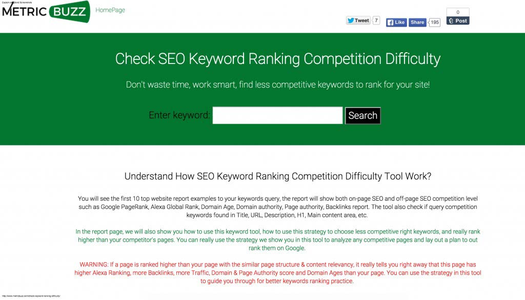 check-keyword-rank-difficulty-tool