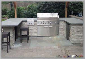 patio outdoor kitchen designs