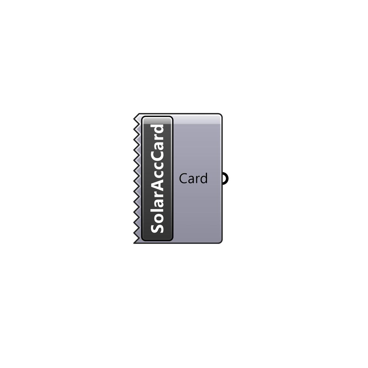 Solar Access Card component
